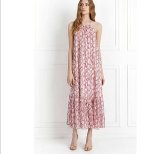 NWT! Rachel Zoe Silk Halter Maxi Dress, S (2)